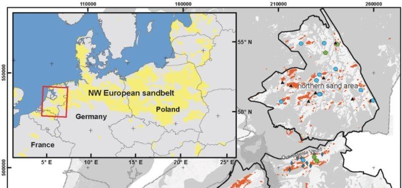 Holoceen stuifzand in Nederland
