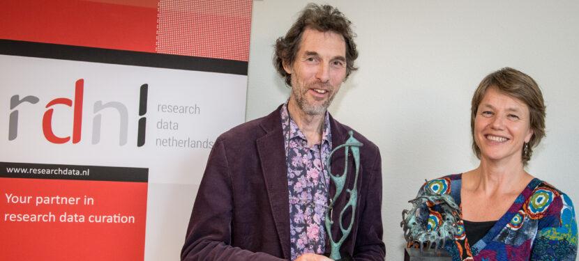 Liederenbank en DINED winnaars Dataprijs 2014