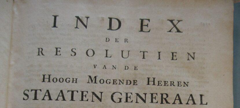 Oorkonden en resoluties uit 15e en 16e eeuw online
