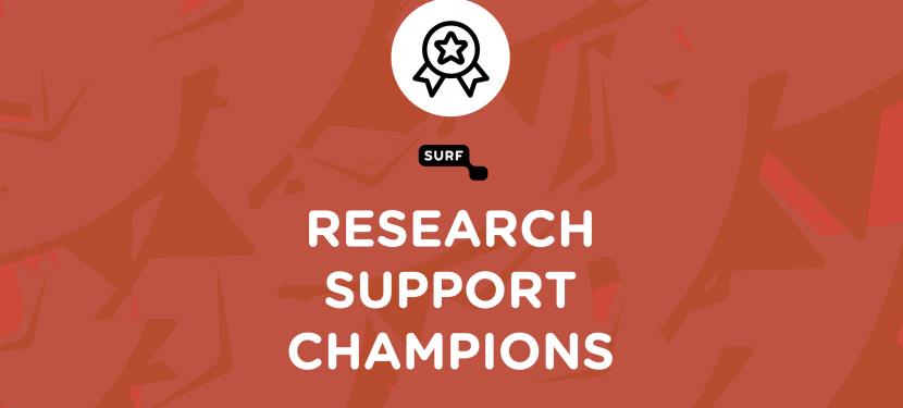 Drie winnaars SURF Research Support Championship 2021